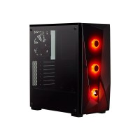 CORSAIR Carbide SPEC-DELTA RGB Tempered Glass Mid-Tower Gaming Case Black Korpusai ir priedai