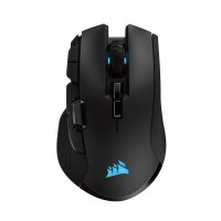CORSAIR IRONCLAW RGB WIRELESS Rechargeable Gaming Mouse with SLISPSTREAM WIRELESS Technology Black Backlit RGB LED 18000 DPI (EU) Pelės ir klaviatūros