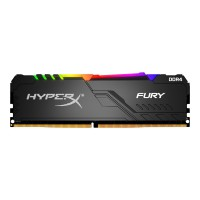 KINGSTON 32GB 3200MHz DDR4 CL16 DIMM Kit of 2 HyperX FURY RGB RAM atmintis