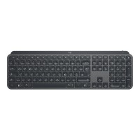 LOGITECH MX Keys Advanced Wireless Illuminated Keyboard - 2.4GHZ/BT - GRAPHITE (US) INTL Pelės ir klaviatūros
